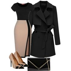 A fashion look from November 2014 featuring Office pumps and ALDO clutches. Browse and shop related looks.