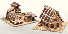 Εύκολη συνταγή για Χριστουγεννιάτικα σπιτάκια από πτι μπερ!   ediva.gr Christmas Cooking, Christmas Art, Xmas, Christmas Is Coming, Party Time, Fairy Tales, Food And Drink, Sweets, Birthday