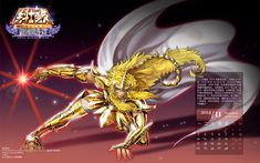 Calendario 2014 Los Caballeros del Zodiaco - Saint Seiya -HQ
