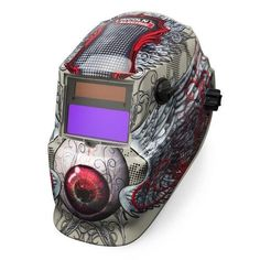 If it's quality and cool graphics that you're after then this Lincoln welding helmet is