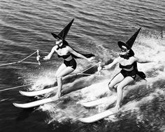 Water Skiing Witches, 1954
