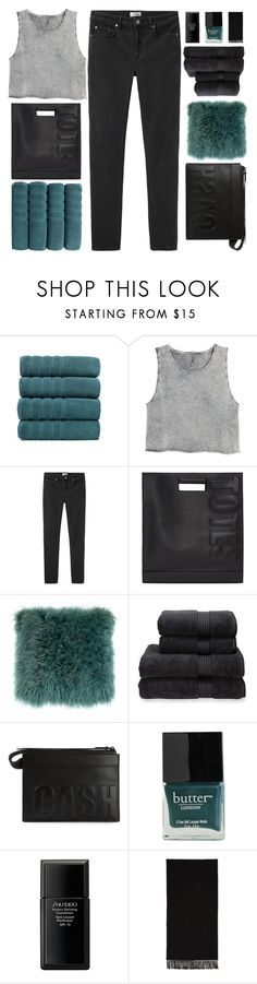 """I WON'T LET GO"" by trnslucid ❤ liked on Polyvore featuring Makroteks, H&M, Acne Studios, 3.1 Phillip Lim, Christy, Butter London, Shiseido, nicolewantstoseethis and philosoqhytags"
