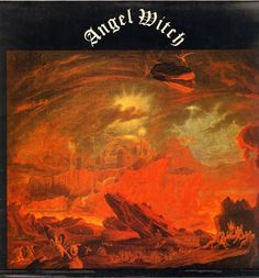"""Angel Witch """"Angel Of Death"""", taken from the 1980 self titled album by nwobhm band Angel Witch Angel of death A faceless evil spirit that haunts Searching fo. Heavy Metal Music, Heavy Metal Bands, Witch Music, Heavy Rock, Metal Albums, White Witch, Sword And Sorcery, Thrash Metal, Angel Of Death"""
