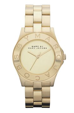 Marc by Marc Jacobs Round Bracelet Watch