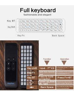 an mini Bluetooth keyboard specifically designed for fire stick