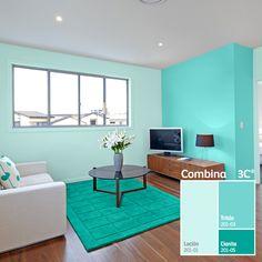 Colores Bonitos Para Pintar Una Casa Por Dentro Escaleras Y Hierro - Pinturas-y-colores-para-interiores