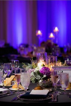 Marvelous setup at this wedding reception.