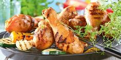 Nóżki z kurczaka na słodko (potrawy z grilla)