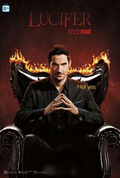 New promotional poster --> Lucifer season 3, FOX 10/2 #ComicCon