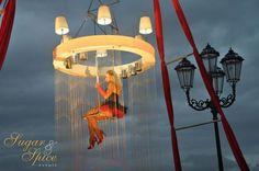 Red & Black wedding - gold coast wedding decorator www.sugarandspiceevents.com.au