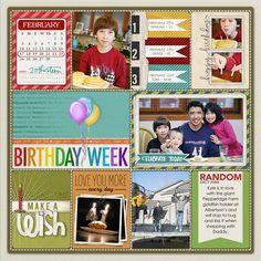 Project Life from Julie at DesignerDigitals.com