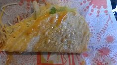 Zantigo greasy taco