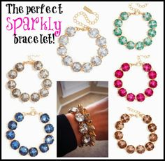 The perfect sparkly bracelet...at a great price!