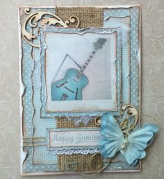 Such a Pretty Mess: Making Retro Style Cards with Maja Design's Summer Crush!