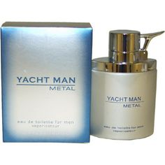 Yacht Man Metal by Puig Eau-de-toilette Spray for Men, 3.40-Ounce - http://www.theperfume.org/yacht-man-metal-by-puig-eau-de-toilette-spray-for-men-3-40-ounce/