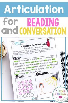 Speech therapy for reading and conversation made easy!