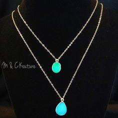 Druzy Necklace, Dainty necklace, womens jewelry, fashion jewelry, druzy gem, layered necklaces, 14k gold filled necklace chain, high quality jewelry