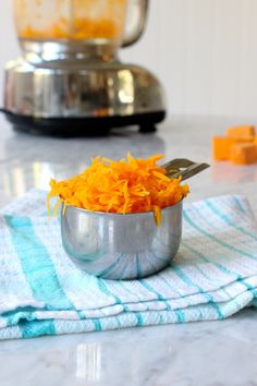 "Shredded Butternut ""Cheddar"" Is My Alternative to Shredded Cheese — Swap It Out"