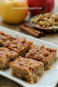 Almás sárgarépás süti (Eve and Apple) Healthy Cake, Healthy Baking, Hungarian Recipes, Cooking Recipes, Healthy Recipes, Banana Bread, Food To Make, Cake Recipes, Food And Drink