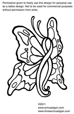 Breast Cancer Coloring Pages Ribbon