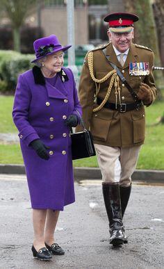 Queen Elizabeth, November 26, 2012 in Rachel Trevor Morgan