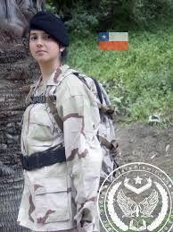 Resultado de imagen para mujeres militares chilenas fach