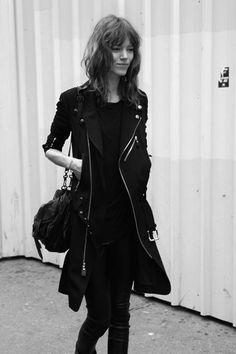 coat all black