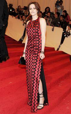 Kristen Stewart wore a Proenza Schouler gown to the Costume Institute Gala in 2011