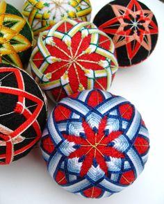 Tutorial: Temari basics · Needlework News | CraftGossip.com