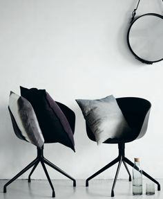 By Nord SS 2013, soon at hviit.no, Chairs from Hay, Mirror from Gubi.