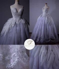 The Swan Princess by Jolien-Rosanne.deviantart.com on @DeviantArt