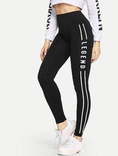 7f3353b4d Legend black and white leggings Športové Odevy, Bikini, Plavky, Šport,  Doplnky,