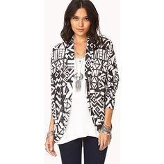 FOREVER 21 Kitschy-Chic Dolman Cardigan