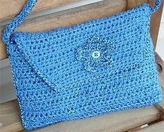 Envelope Purse Crochet Pattern | FaveCrafts.com