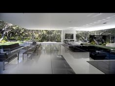 A Grand Tour: Multimillion Dollar Spaces From HGTV's Million Dollar Rooms :Glass Pavilion Home in Santa Barbara    The home's elegant and open design was created with the intent of providing a sense of serenity and direct connection with nature.