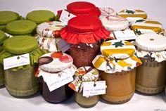 Variációk egy témára: lekvárok (nektarin, szeder, lime-os rebarbara, zöld füge) ~ Receptműves Dairy, Cheese, Desserts, Tailgate Desserts, Deserts, Postres, Dessert, Plated Desserts