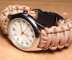 Throughout this Instructable I will show you how to make a paracord watch. Some people call them survival watches, ICE watches or tactical watches, whatever you call it, they are ...