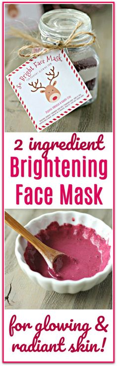 Face Mask Recipe with Free Printable Labels This makes my skin so nice! Brightening Face Mask Recipe with Free Printable LabelsThis makes my skin so nice! Brightening Face Mask Recipe with Free Printable Labels Printable Labels, Free Printable, Printable Recipe, Home Remedies For Hair, Homemade Face Masks, Homemade Christmas Gifts, Diy Skin Care, Natural Medicine, Diy Beauty