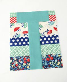 Letter T with @Camille Roskelley @ModaFabrics