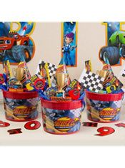 Blaze and the Monster Machines Ultimate Favor Kit for 8 Guests Blaze And The Monster Machines Party, Blaze The Monster Machine, Festa Monster Truck, Monster Truck Birthday, Monster Trucks, Third Birthday, Boy Birthday, Birthday Ideas, Bolo Blaze