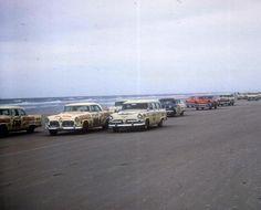 NASCAR racing on the beach, Daytona Beach, FL
