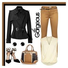 Untitled #491 by gallant81 on Polyvore featuring polyvore fashion style River Island Bouchra Jarrar Ichi Sergio Rossi Kris Nations clothing