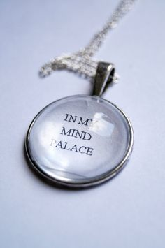 In My Mind Palace   Sherlock Fandom Necklace by CuriousOwlDesign
