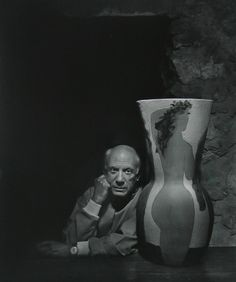Pablo Picasso by Yousuf Karsh (December 23, 1908 – July 13, 2002)