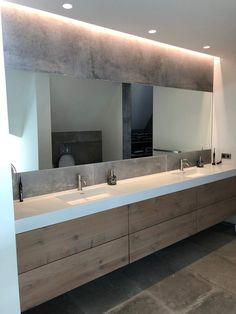 Condo Bathroom, Bathroom Vanity Units, Bathroom Toilets, Master Bathroom, Bathroom Ideas, Bathroom Design Inspiration, Bathroom Interior Design, Home Design Plans, Bathroom Styling