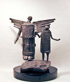 My Angel (Mi Angel) | See more Figurative Sculptures at https://www.1stdibs.com/art/sculptures/figurative-sculptures on 1stdibs