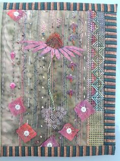 Garden journal page by Debbie Irving
