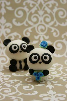Love Pandas Cake Topper.