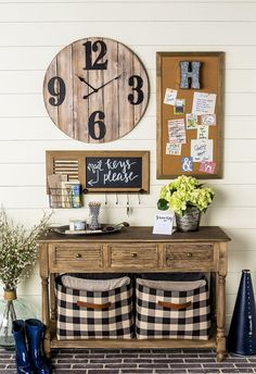 """Farmhouse decorating is warm, cozy, relaxing, and full of charm and character. It eschews modern sensibilities and goes back to a simpler time. That said, farmhouse style is surprisingly savvy. To keep a farmhouse from looking too """"country kitsch"""" there… Continue Reading →"""