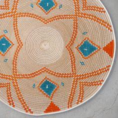 31cm Sisal basket handmade in Swaziland, Africa www.tintsaba.com